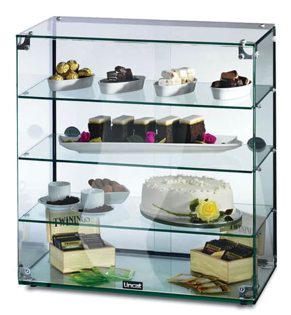 Lincat Gc46d Seal Ambient Glass Display Cabinet With Rear