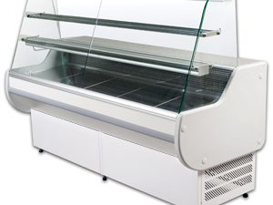 Genfrost - AST100 ASTRELLA Slimline 2 Shelf Refrigerated Serveo