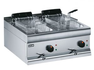 Lincat DF66 Twin Tank Electric Fryer (Counter top)