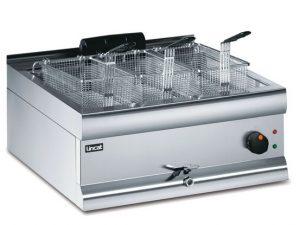 Lincat DF66S/T Single Tank 3 Basket Electric Fryer (Counter to