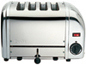 DUALIT - DB4P 4 SLOT TOASTER - POLISHED