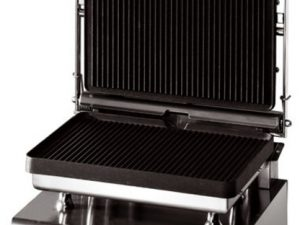 Lincat GG1P Heavy Duty Contact Grill - Ribbed upper & lower (E