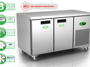 Genfrost GEN2100L - 2 Door GN Freezer Counter