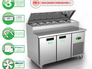 Genfrost GPR2700 - 2 Door Prep Counter