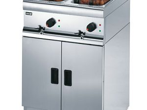 Lincat J12 Twin Tank Electric Fryer (Free Standing)