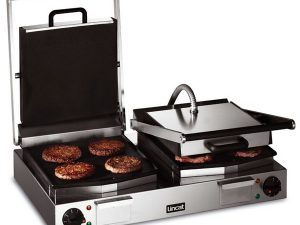 Lincat LCG2 Contact Grill - Smooth plates (Electric)
