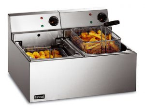 Lincat LDF2 Twin Tank Electric Fryer (Countertop)