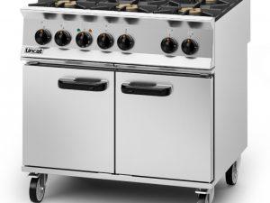 Lincat OD8007/N Opus  - 6 Burner Gas Range
