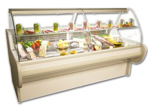 Genfrost - Orion 120 - Plug In Refrigerated Serveover Counter