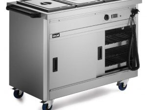 Lincat P6B3 Hot Cupboard with Bain Marie (Electric3