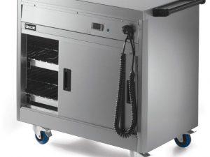 Lincat P6P2 Hotcupboard, Mobile Plain Top (Electric)