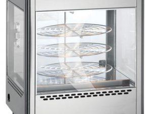 Lincat UM50D Rotating RackUpright Heated Merchandiser (2 Door)
