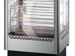 Lincat UMSO50D 2 Door Heated Merchandiser with Oven with rota