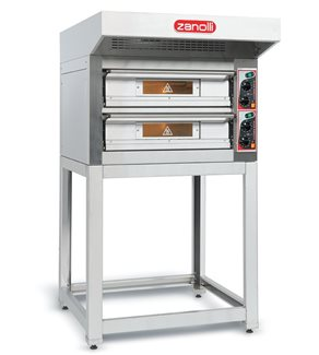Zanolli EP70 Citizen Double Deck Pizza Oven (Electric)