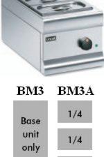 Lincat BM3A Dry Heat Bain Marie