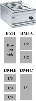 Lincat BM4A Dry Heat Bain Marie