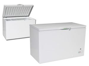 Genfrost CF1300 White Lid Chest Freezers