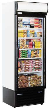 Staycold - HD690 Single Glass Door Upright Freezer