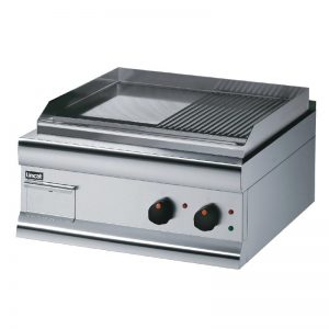 Lincat GS6/TR Silverlink 600 Half Ribbed Dual zone Electric Griddle