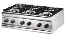 Lincat HT9 6 Hob Gas Boiling Top