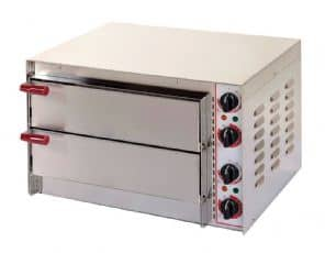 Kingfisher Little Italy Double Deck Pizza Oven (Electric)