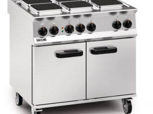 Lincat  OE8008 6 Plate Electric Oven Range