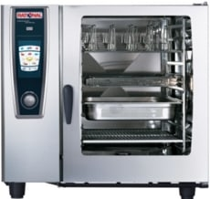 Rational Model 102 Gas White Efficiency Self Cooking Centre