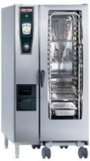 Rational Model 201 Gas White Efficiency Self Cooking Centre