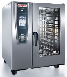 Rational Model 101 Gas White Efficiency Self Cooking Centre