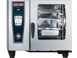 Rational Model 61 Gas White Efficiency Self Cooking Centre