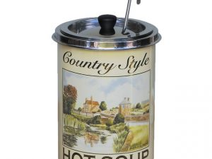 Victorian Country Style Themed Soup Kettle