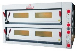 Italforni TKD2 Twin Deck Electric Pizza Oven