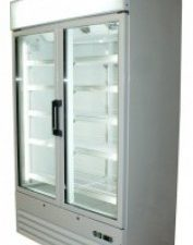 Prodis XD2NW Double Door Upright Display Freezer (White)