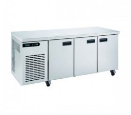 Foster XR3H three door counter refrigerator