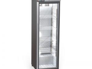 Foster XR415G Xtra Slimline 1 Glass Door 410Ltr Cabinet Fridge with Light