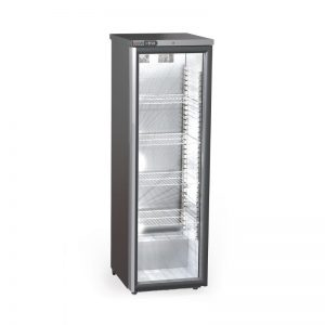 Foster XR415G Xtra Slimline 1 Glass Door 410Ltr Cabinet Fridge with Light